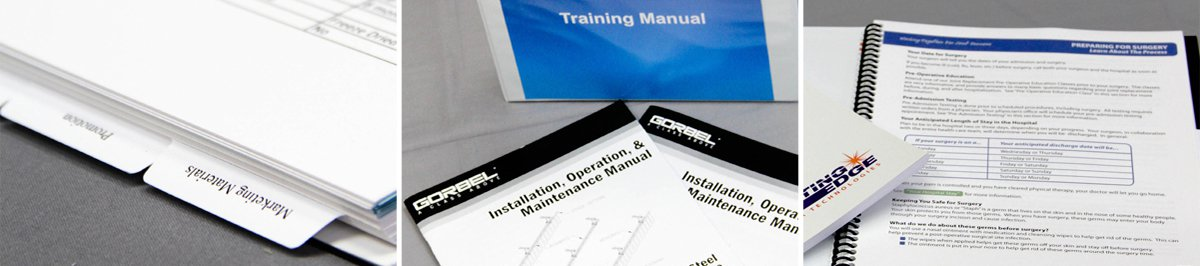 Training Manual Printing  Digital Printing  Pixos Print